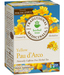 Yellow Pau D'Arco Tea, 16 tea bags (Traditional Medicinals