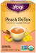 Peach Detox Tea - Organic 16 tea bags (Yogi Tea)