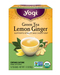 Green Tea Lemon Ginger - Organic, 16 tea bags (Yogi Tea)