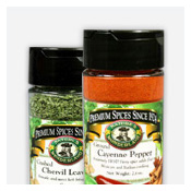 Nature's Wonderland Spices for Cooking & Seasoning in Handy Shaker Jars...