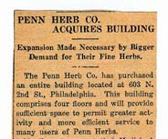 Penn Herb Company Acquires Building