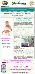 FREE Weekly Email Newsletter from Penn Herb Co. Ltd.