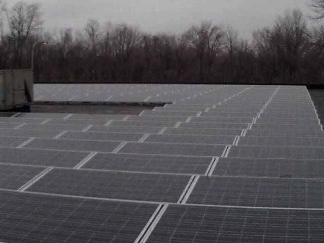 Current Image of Solar Energy Plant